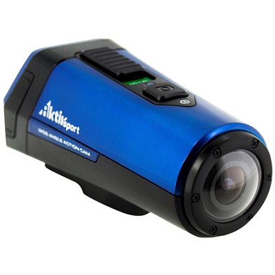 CX9WP-BL AktivSport 1080p HD 16.0 MP POV Action Sports Blue Camcorder with GPS