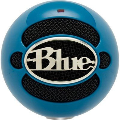 Snowball USB Microphone - Neon Blue