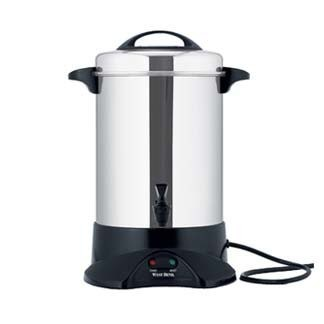 60-Cup Commercial Coffee Urn Stainless Steel