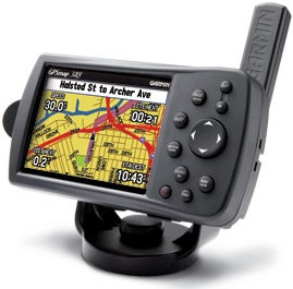 GPSMAP 378 Portable GPS Chartplotter w/ Pre-Loaded Lake and Road Maps
