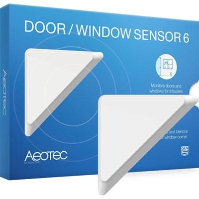 Door and Window Sensor  6 - ZW112A - OPEN BOX