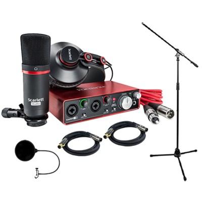 Scarlett 2i2 Studio Pack & Recording Bundle - 2nd Generation w/ Pro Tools