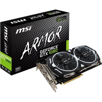 GeForce GTX 1080 8GB GDDR5X SLI DirectX 12 VR (OPEN BOX)