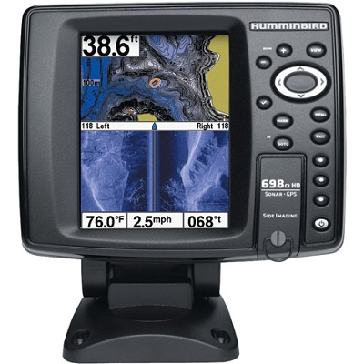 698ci HD SI 5` Color Screen GPS Sonar Combo Fish Finder