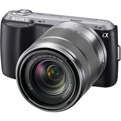 Alpha NEX-C3 Interchangeable Lens Black Digital Camera w/ 18-55mm Lens