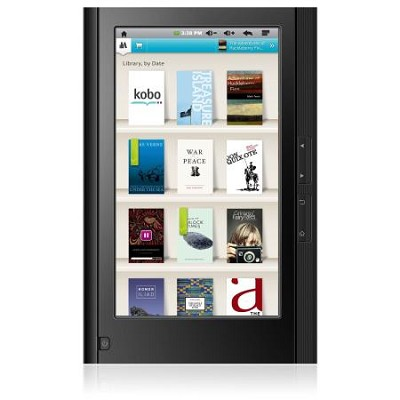 eGlide 7` Google Android Touch Screen Tablet & Kobo eReader- 4GB with WiFi Black