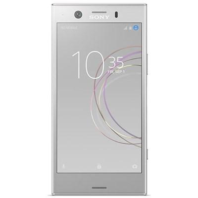 Xperia XZ1 Compact Factory Unlocked Phone 4.6` Screen 32GB - White Silver