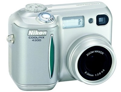 Coolpix 4300 DIGITAL CAMERA