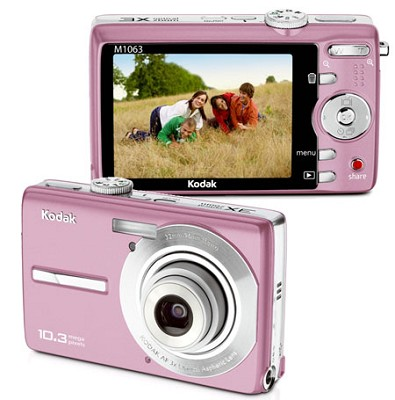 EasyShare M1063 10.3 MP Digital Camera (Pink)