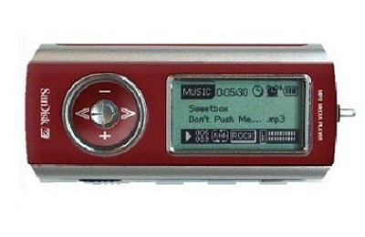 SDMX1-256-A18 256MB MP3 Player