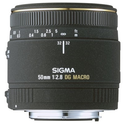 50mm F2.8 EX DG Macro for Canon EOS