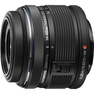 M.14-42MM F3.5-5.6 2R Zuiko Camera Zoom Lens (Black) Refurbished