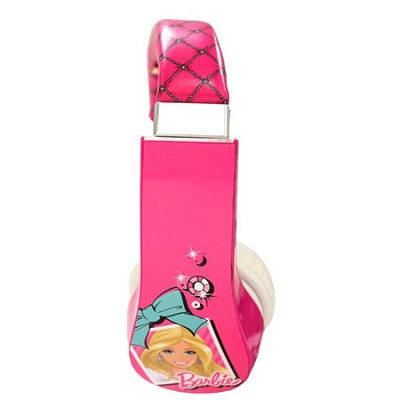 Barbie Kid Safe Over the Ear Headphone with Volume Limiter - 30359-TRU