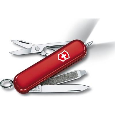 Signature Lite Pocket Knife - Red