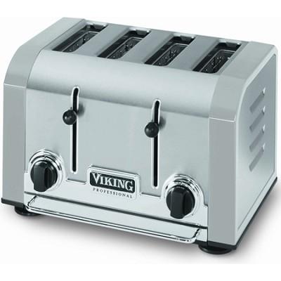 Professional 4 Slot Toaster - Gray