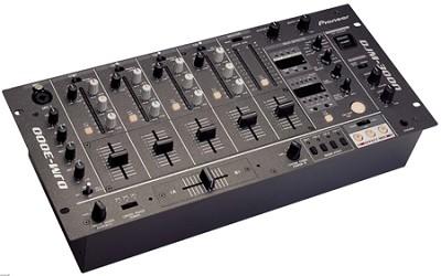 Rack mount pro DJ mixer
