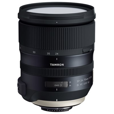 Tamron SP 24-70mm f/2.8 Di VC USD G2 Lens for Nikon and Canon