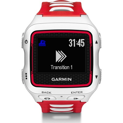 Forerunner 920XT Multisport GPS Watch - White/Red