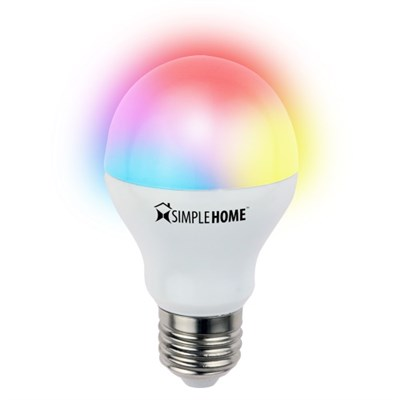 Multicolor Smart Wifi LED Bulb