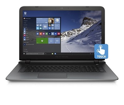 Pavilion 17-g120nr 17.3` Touchscreen AMD A8-7410 Quad-core Notebook - OPEN BOX