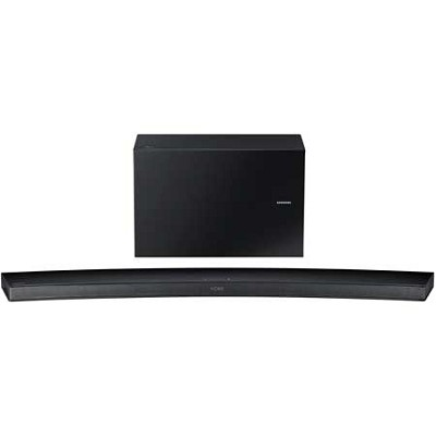 HW-J7500 - Curved 8.1 Channel 320 Watt Wireless Audio Soundbar (Black)