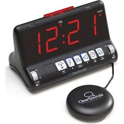 ShakeUp to WakeUp Alarm Clock with Bed Shaker - HC-SW200HC-SW200
