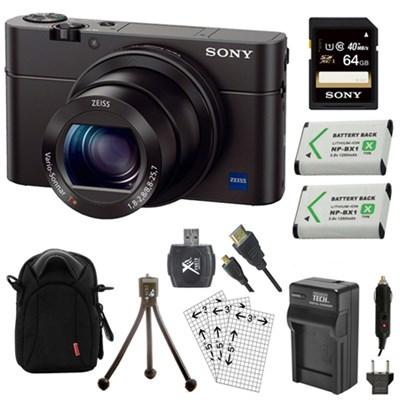 Cyber-shot DSC-RX100 III 20.2 MP Digital Camera Kit