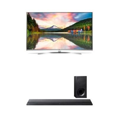 65` 4K Super UHD HDR 240Hz Smart 3D LED + Sony HTCT390 Soundbar with Subwoofer