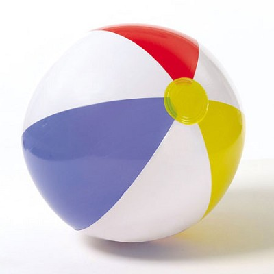 Glossy Panel Beach Ball for Ages 3 and up