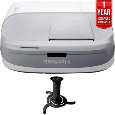 3300 Lumens WXGA HDMI Ultra Short Throw Projector with 1 Year Warranty
