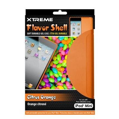 Citrus Orange Flavor Shell Soft Durable Gel Case for the iPad Mini