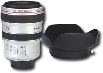 XL 3X 24-72mm f/1.8-2.2 Wide-Angle  Lens for XL1S and XL2