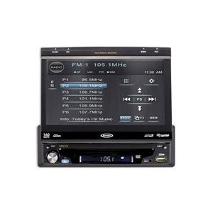Flip out Multimedia Receiver w/ 7` Touch Screen - iPod/USB/BT and NAV Ready
