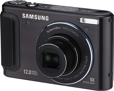 TL320 12MP 3 inch AMOLED LCD Digital Camera (Black)