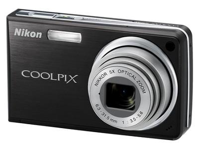 Coolpix S550 10MP 5x Zoom Digital Camera (Graphite Black)