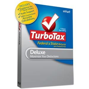TurboTax Deluxe Federal + e-File + State 2010