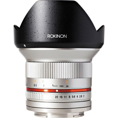 12mm F2.0 Ultra Wide Angle Lens for Micro Four Thirds - Silver