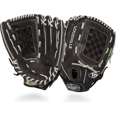 12.75-Inch FG Zephyr Softball Outfielders Glove Right Hand Throw - Black