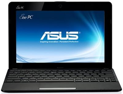 Eee PC 1011CX-MU27-BK 10.1 LED Netbook W/Intel ATOM N2600 Dual Core- Matte Black