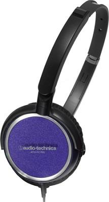 ATH-FC700APL Portable Headphones (Purple)