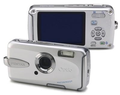 Optio W30 7.1 MP Digital Camera