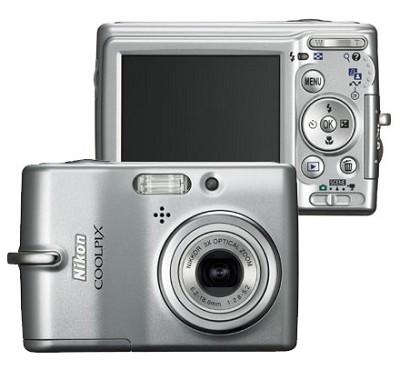 Coolpix L11 Digital Camera (Silver)