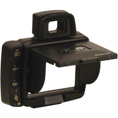 Snap-on Pro Pop-up LCD Shade & Protective Cover for Nikon D40 / D40X