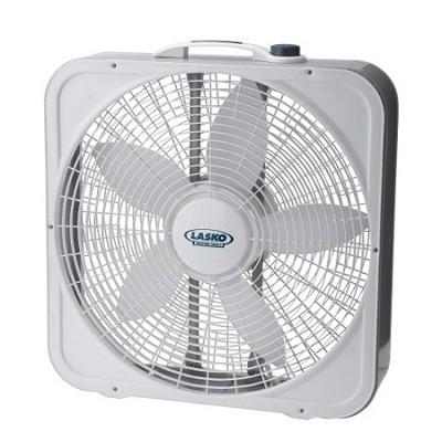 3743 20-inch Weather-Shield Premium Plus Box Fan - 3 Speed