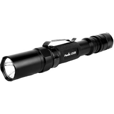 LD20 6-Level High Performance Cree LED Flashlight, Black (180 Lumens)