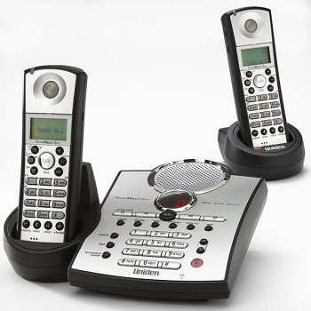 TRU5885-2 5.8 GHz Cordless Phone With Answering System & Dual Handsets