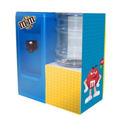 M&M's Mini Desktop Water Dispenser - Holds Half-gallon of Your Beverage