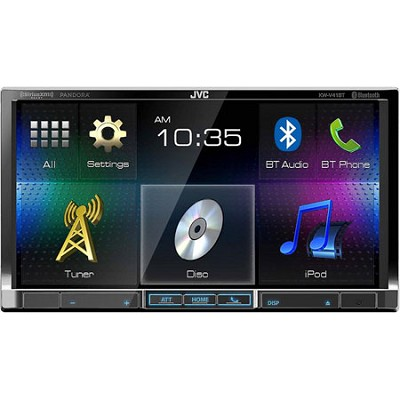 KW-V41BT 7` Double Din CD/DVD/USB Bluetooth Car Stereo Receiver