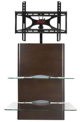 Alta Wall Mounted Flat Panel TV Stand - Up to 42` (Espresso)