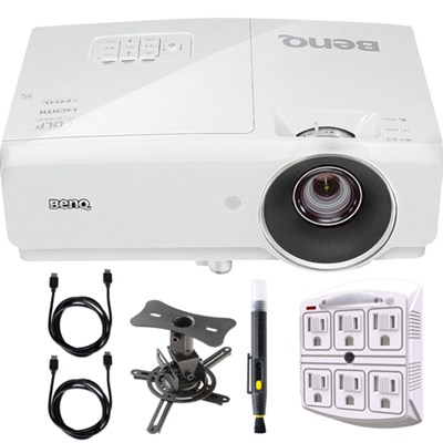 MH741 1080p DLP 3D Projector with Mounting Bundle